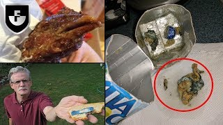 10 Disturbing Items Found In Food/Drink Products