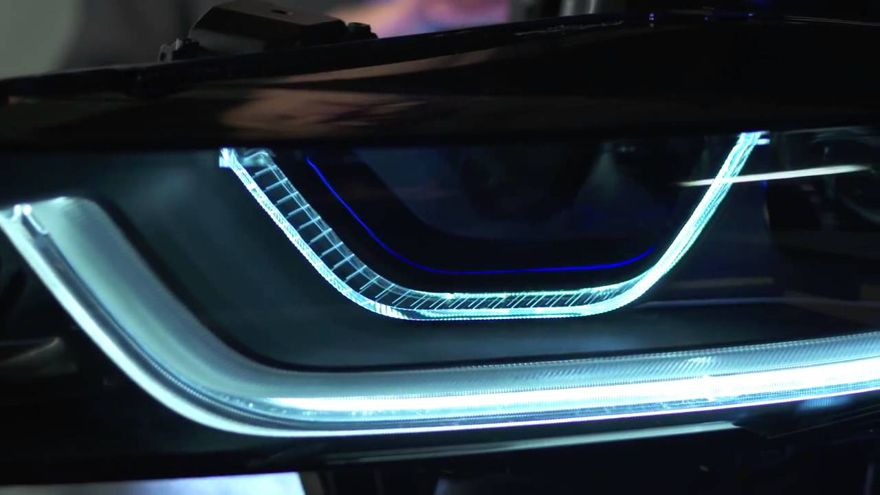 Bmw I8 How Laser Powered Headlights Work Youtube