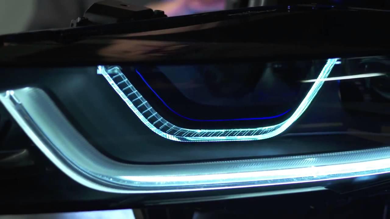 BMW i8 how Laserpowered Headlights Work  YouTube