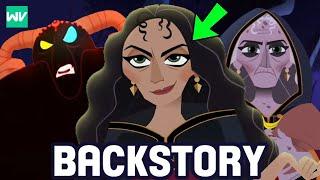 Mother Gothel's Full Backstory!  Zhan Tiri's Third Follower | Tangled The Series