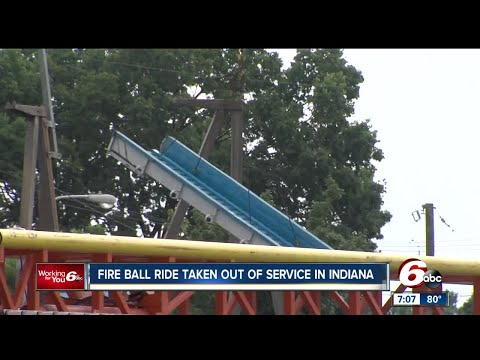 Fire Ball ride taken out of service in Indiana