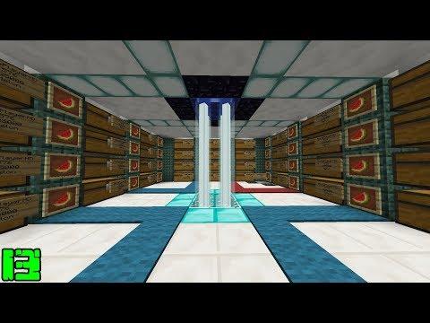 Minecraft: INAUGURAÇÃO DA MINHA LOJA !! - RankUP MINE 13 ‹ Alone ›