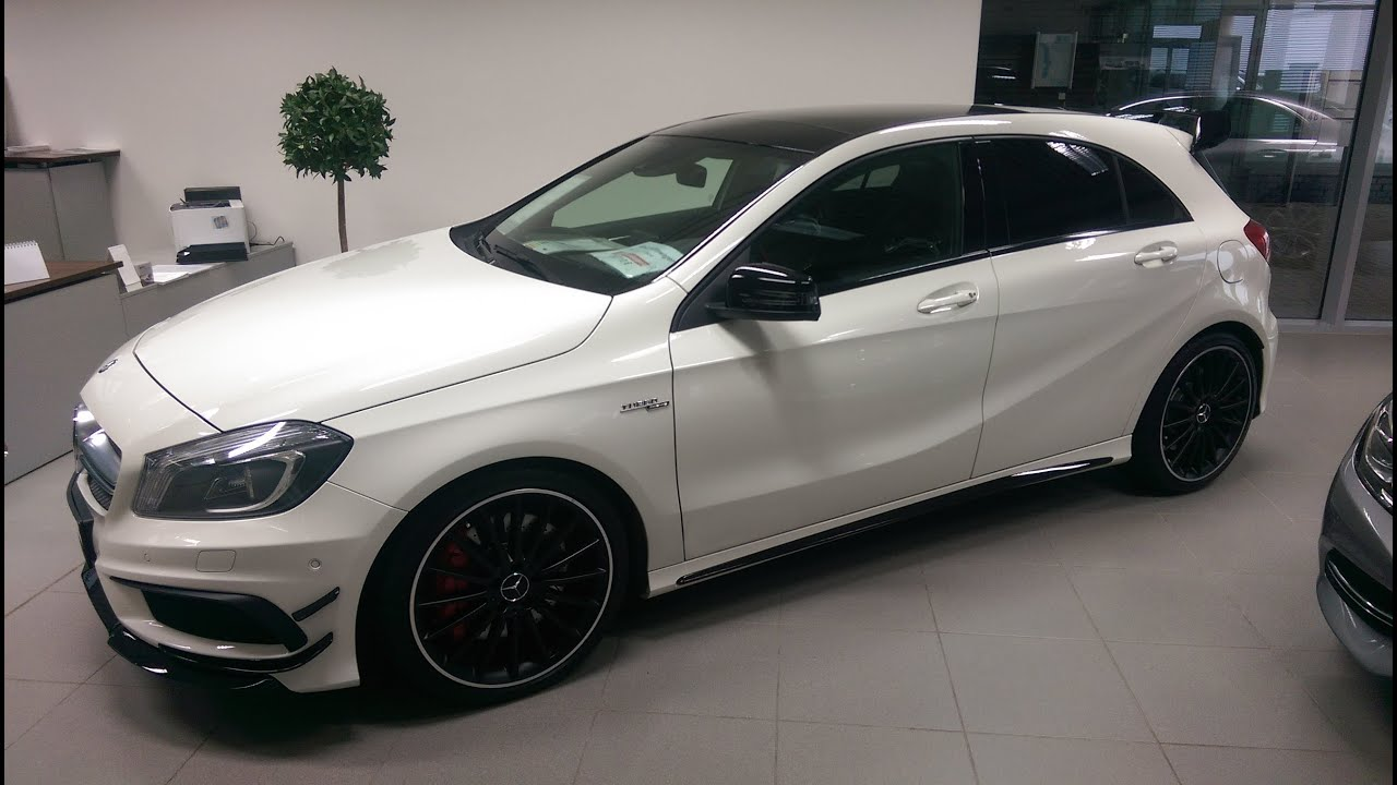 2015 mercedes a45 amg 4mtatic youtube. Black Bedroom Furniture Sets. Home Design Ideas
