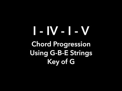 Brown Eyed Girl Chord Progression Gbe Strings Youtube