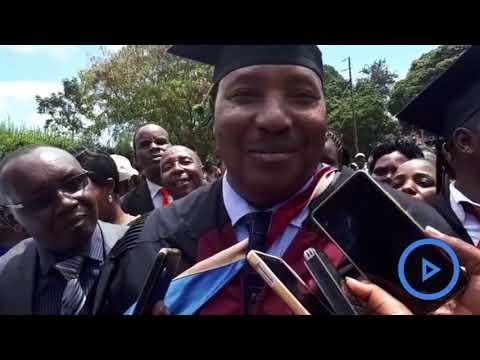Kiambu governor Ferdinand Waititu graduates with a Masters of Business Administration