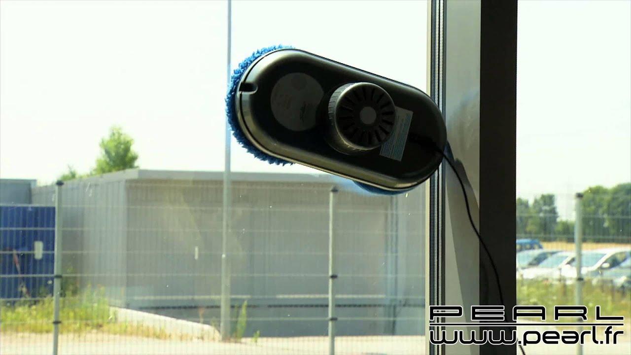 nc5649 robot laveur de vitre intelligent youtube. Black Bedroom Furniture Sets. Home Design Ideas