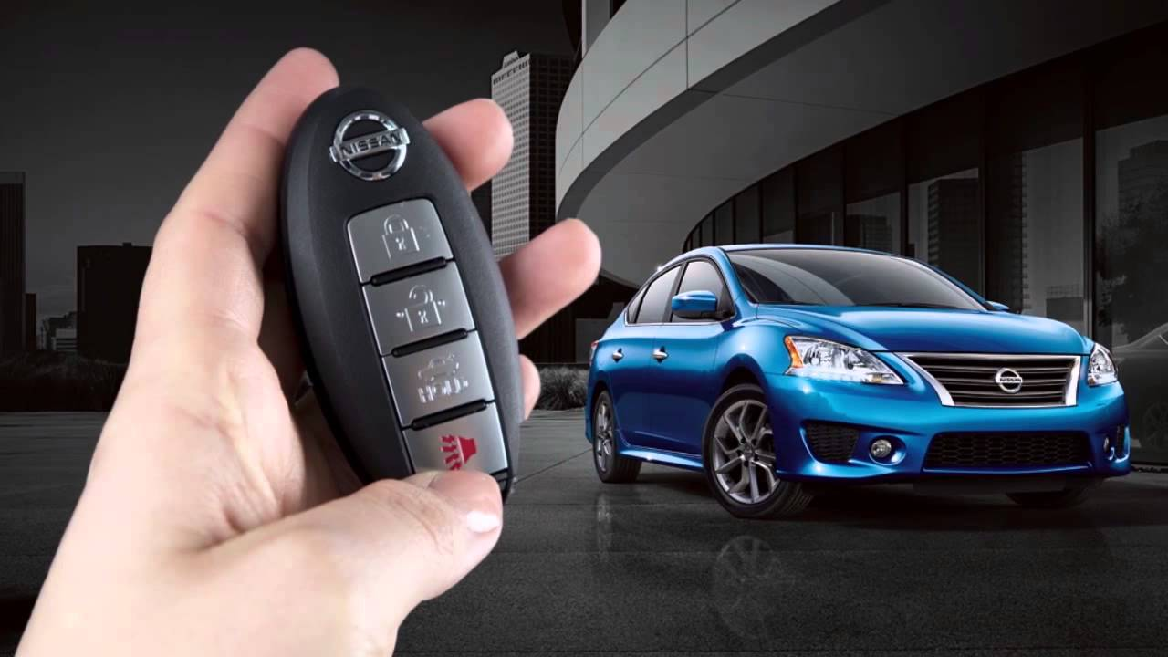 2014 NISSAN Sentra - Intelligent Key and Locking Functions ...