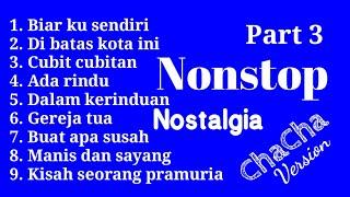NONSTOP NOSTALGIA VOLUME 3 | COVER - CHACHA