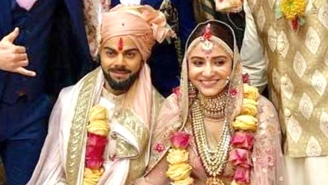 Virat Kohli Wedding.Virat Anushka Wedding Video Leaked Virat Kohli Anushka Sharma Marriage