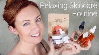Relaxing ✨ 10 Step Korean Skincare Routine ✨ ASMR