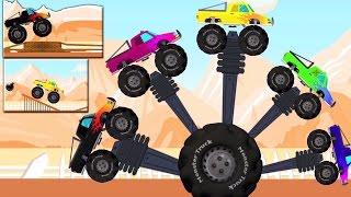 monstruo camiones dedo familia | niños Rima | Nursery Rhyme For Kids | Monster Truck Finger Family