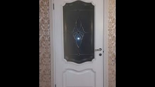 Белорусская дверь с витражным стеклом Вист Премьера(Дверь межкомнатная Белорусской фабрики Вист, модель премьера белая патина стекло витражное Купить дверь..., 2015-10-30T19:35:08.000Z)