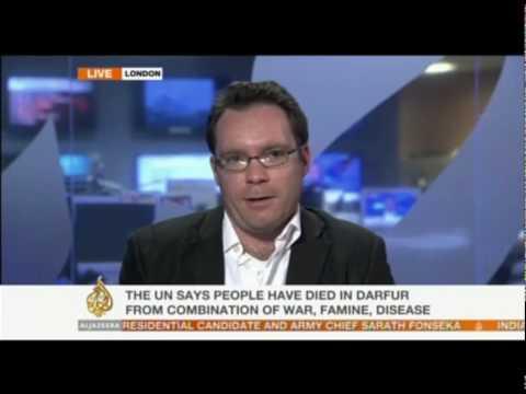 Rob Crilly on Darfur