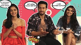 Pop Diaries Slam Book With Ananya Panday, Tiger Shroff And Tara Sutaria | Student Of The Year 2