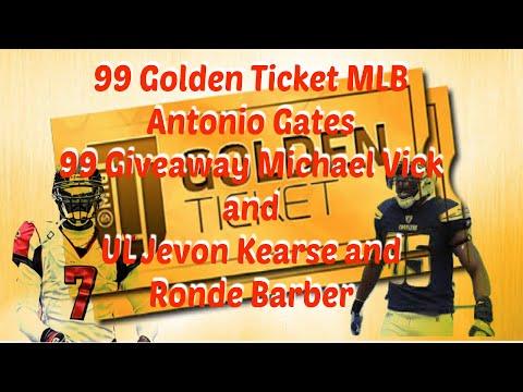 Madden 16 - 99 GT MLB Antonio Gates + 99 OVR Giveaway Michael Vick UL Jevon 986df3d51