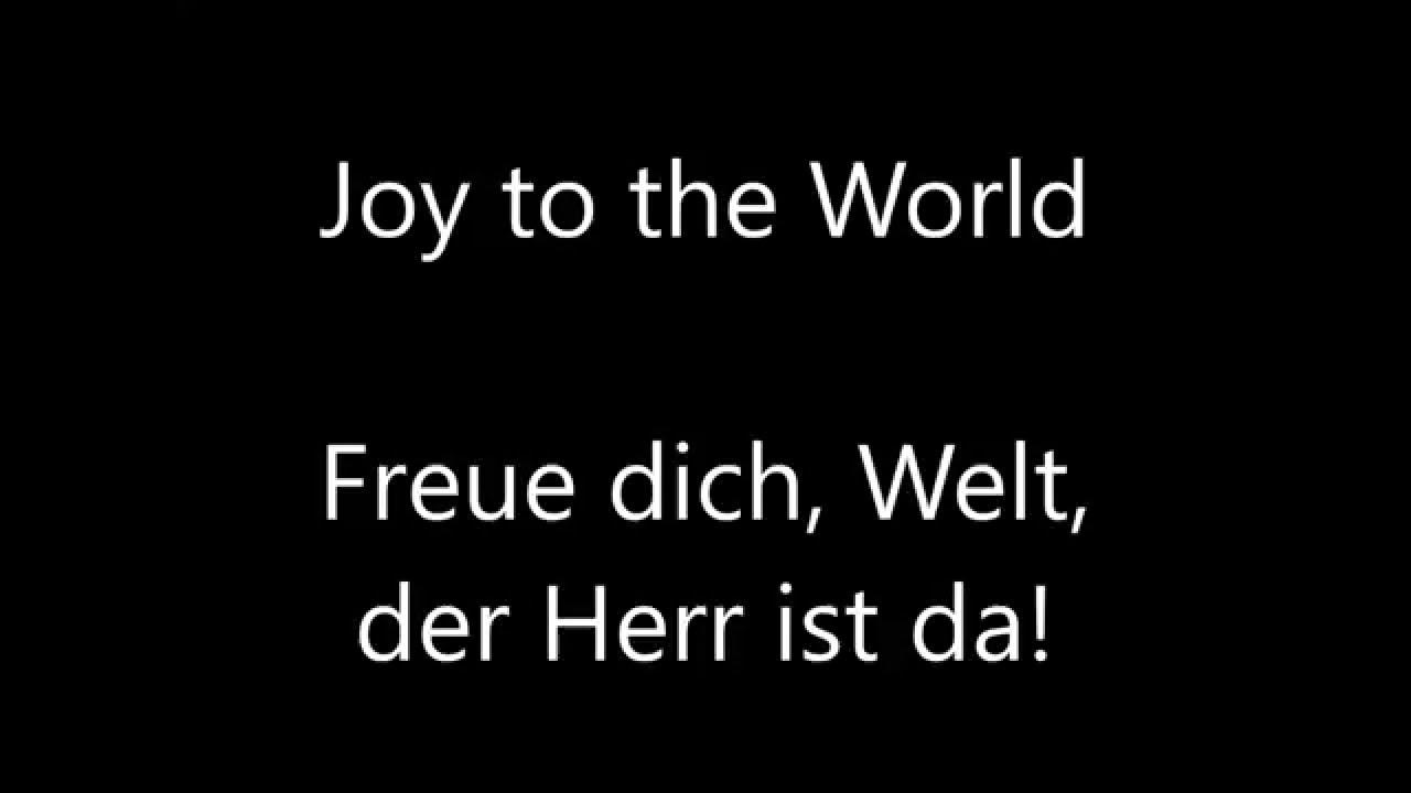 Music Joy to the World - Citizens & Saints - Christmas - Free Download - Lyrics English/German ...