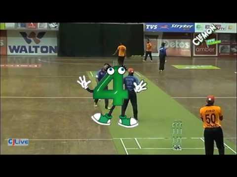Clemon Indoor Uni Cricket_IUBAT vs AIUB