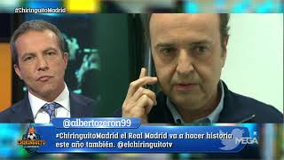 Juanma Rodríguez RESPONDE a Cristóbal Soria y ¿le pega un 📱'telefonazo'📱 a Sergio Ramos?