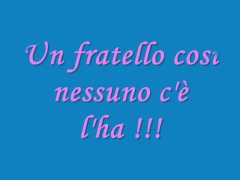 Super A mio fratello - YouTube JX68