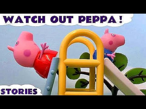 Thumbnail: Peppa Pig English Episodes Compilation - Pepa toys and family fun toy stories & Surprise Eggs TT4U