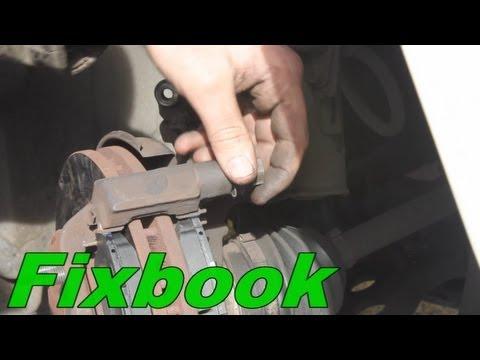 "Stuck Brake Caliper Slide Pin ""How to"""
