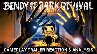 So Many Questions  Bendy amp; the Dark Revival Gameplay  (Reaction amp; Analysis)