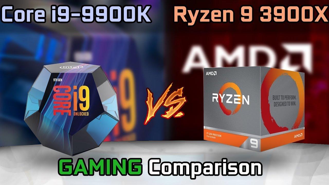 Ryzen 9 3900X vs Core i9-9900K Benchmark Leaks