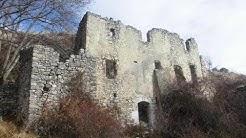 Le village fantôme de Châteauneuf lès Moustiers