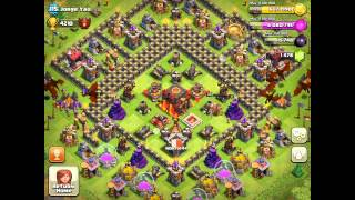 Clash Of Clans: Jorge Yao part2/ Tips/ Gameplay