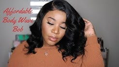 Affordable Everyday 13x6 Body Wave Bob Lace Frontal Wig I Dolago