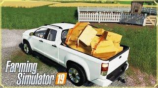 FARMING SIMULATOR 19 #45 - NUOVA AUTO CARICA DI UOVA - GAMEPLAY ITA