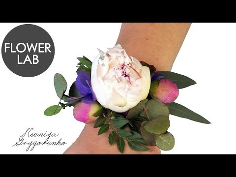 Wedding Wrist Corsage How To Make Fresh Flowers Bracelet Diy Brscelet