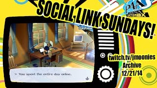 Prinny_Raider Kills the Stream with Porn - P4AU Social Link Sundays! Twitch Archive 12/22/14