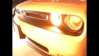 Hertz Adrenaline Rental Car Dodge Challenger Exhaust Drive