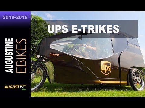 News. UPS rolls out it's e-Trike delivery system in Portland, Oregon