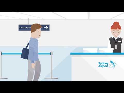 Sydney Airport | Departure Process (2017)