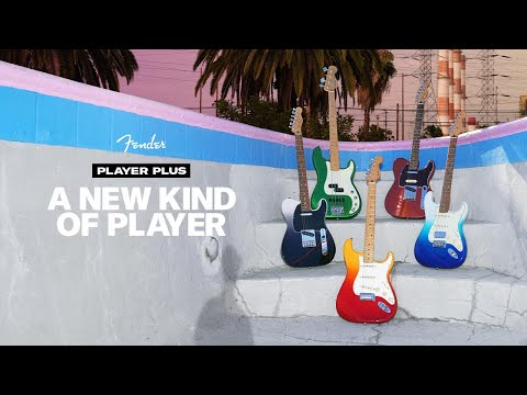 Fender® Releases New Player Plus Series, Designed To Unite The...