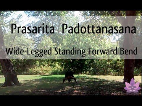 yogatips1 widelegged standing forward bend  youtube