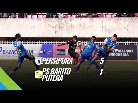 [Pekan 19] Cuplikan Pertandingan Persipura vs PS Barito Putera, 4 Agustus 2018