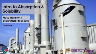 IEK213 Intro to Absorption and Gas Solubility