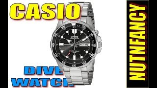 Proven: $60 Casio Dive Watch [MTD 1079AV]