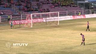 MTUTD.TV Highlight Chainat 0 - 0 SCG Muangthong United - Thai Premier League - Round 20