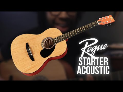 Jamison Bethea rocks out on a Rogue Starter Acoustic Guitar (Getting Ready - Michael Kiwanuka cover)