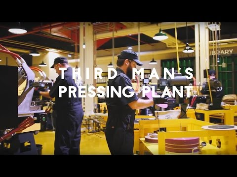 A behind the scenes look at Third Man's new Detroit pressing plant