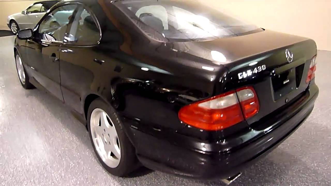 2001 mercedes benz clk430 2 dr coupe 1969 sold