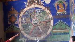 04 33rd Kalachakra at Leh  Wheel of life, Vawa Chakra, Shivi khorlo