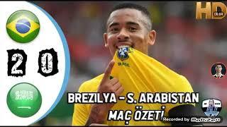 Brezilya vs sudi Arabistan 2-0