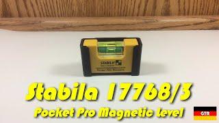 Wasserwaage Stabila Pocket Pro magnetic 7cm