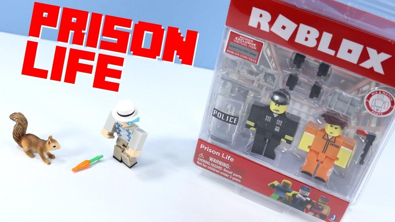 Roblox Prison Life Game Pack Action- & Spielfiguren