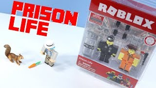 ROBLOX Prison Life Game Pack Series 2 Unbloxing Review & Gameplay
